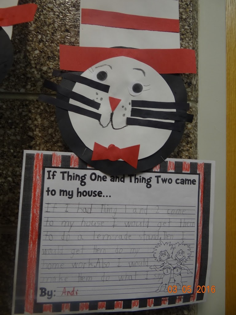 Dr. Seuss Art for First Graders