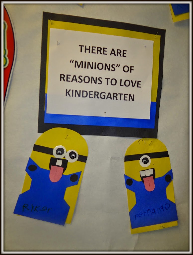 Back to School Minions